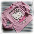 bluzka bluzeczka hello kitty 122 128 NOWA