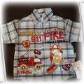 Koszula dla małego fana strażaków