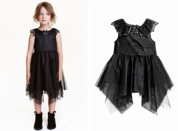 H&M sukienka tiulowa 104 3 4lat tiul falbany