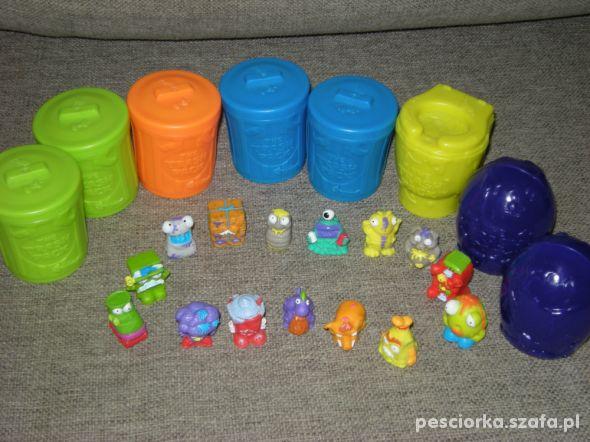 Zestaw Trash Pack Śmieciaki śmietniki Cobi