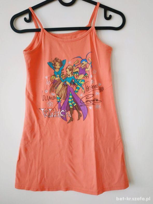 Bawełniana sukienka 128