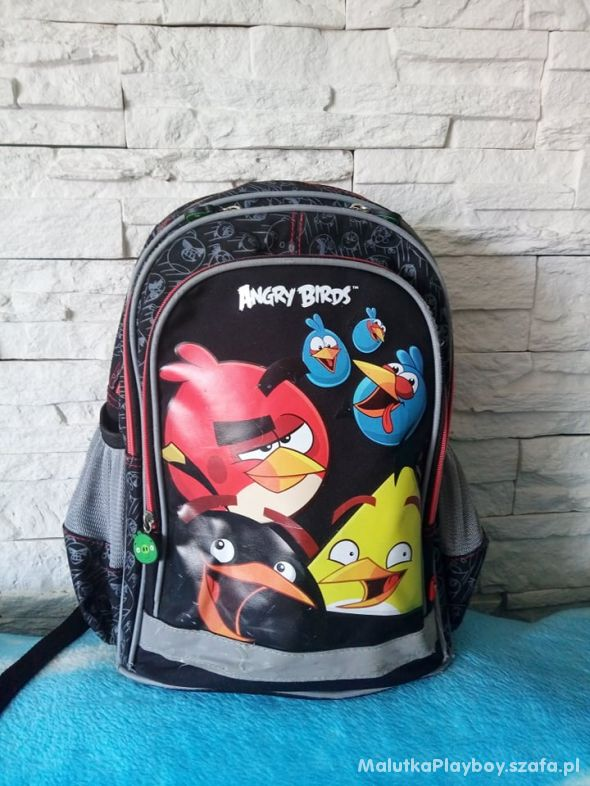 Plecak Szkolny Tornister Angry Birds