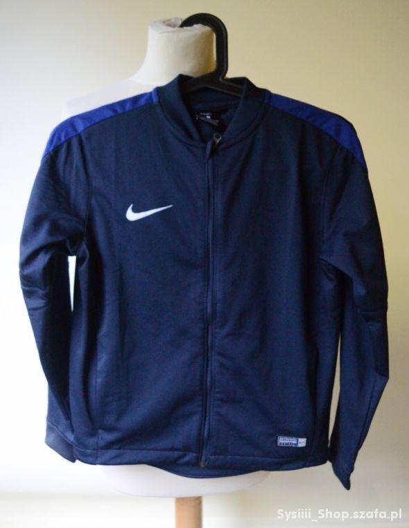 Bluza Nike Dri Fit Granatowa 10 12 lat 140 152 cm
