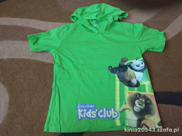 zielona bluzeczka 128