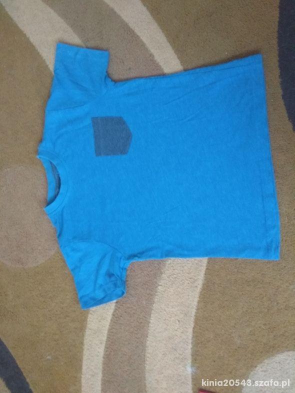 Niebieska bluzeczka 116 122