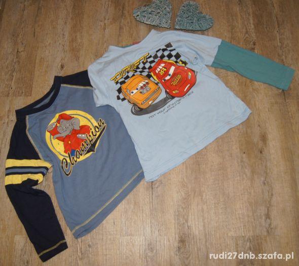 Zestaw chłopiec bluzki długi rękaw Cars Zygzak 122