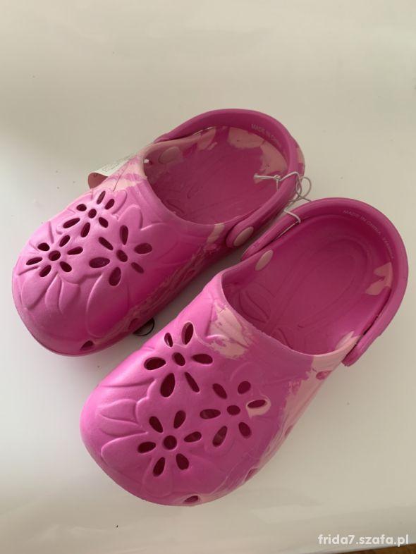 Nowe klapki ala Crocs Mothercare 305 UK12