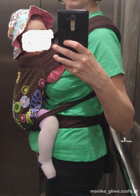 Nosidło dla dziecka a la chusta