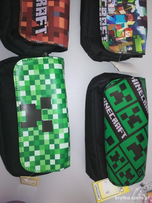 Nowy piórnik Minecraft duzy