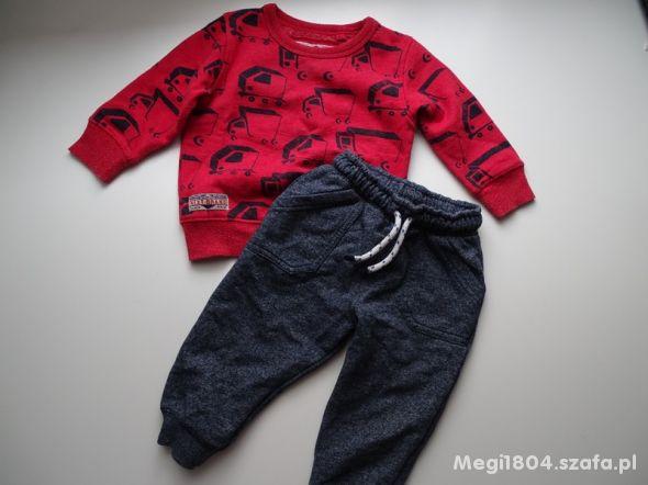 Bluza Next i spodnie F&Frozm 74