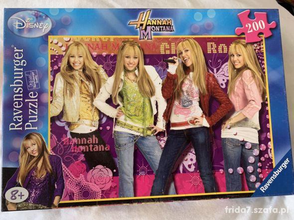 Puzzle Hannah Montana Ravensburger 200 el