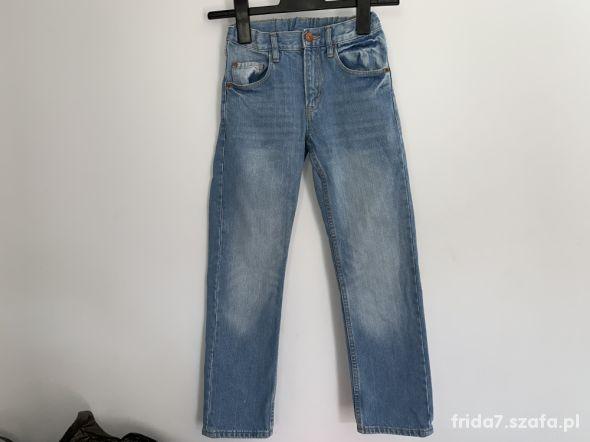 jeansy slim H&M 140