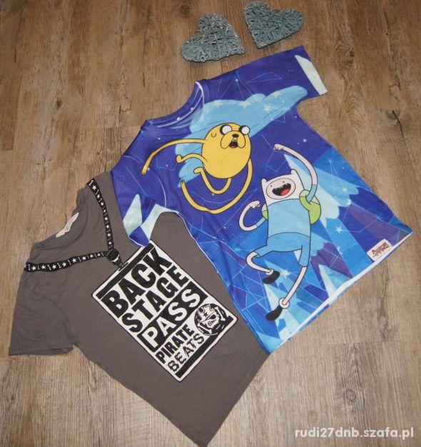 Bluzeczka koszulka zestaw Pora na przygodę H&M