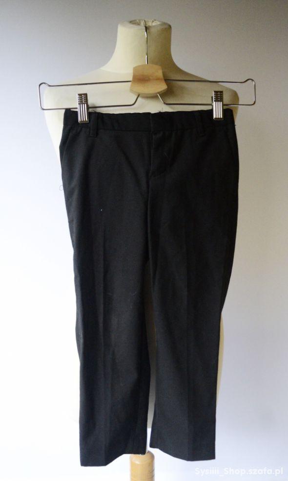 Spodnie Czarne H&M 3 4 lata 104 cm Garnitur Wizyto