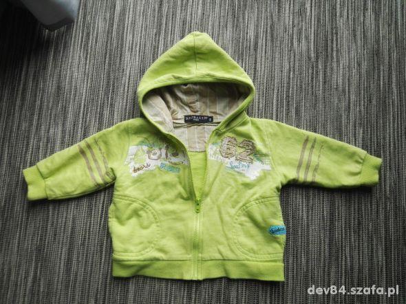 Bluza niemowlęca z kapturem rozmiar 68 3 do 6m