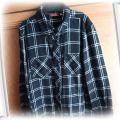 Koszulowa tunika w kratę