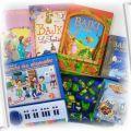 Książeczki dla dzieci pianinko szablony