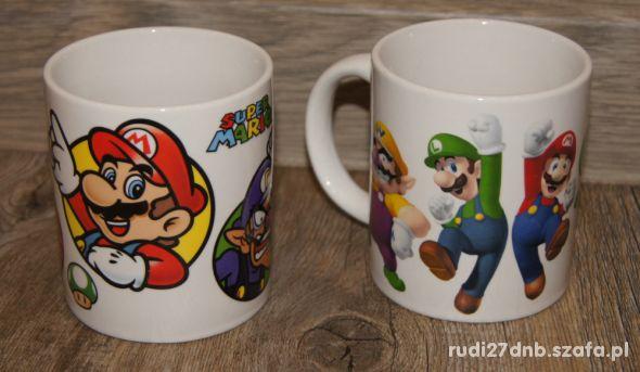 Kubek kubeczek ceramiczny Mario Bros zestaw