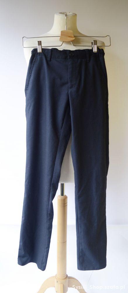 Spodnie Eleganckie Lindex Kids Granatowe 158 cm 12