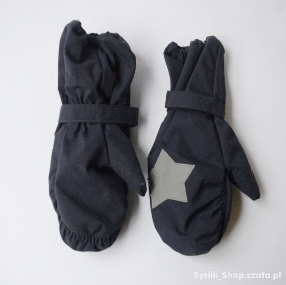 Rękawiczki Granatowe Thinsulate 6 8 116 128 cm Zim