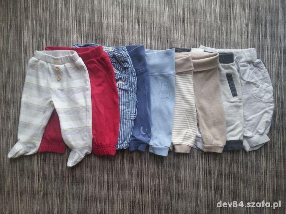 Zestaw spodni niemowlęcych rozmiar 56 62