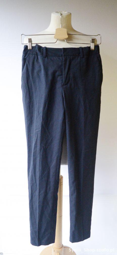 Spodnie Granatowe Eleganckie H&M 164 cm 13 14 lat