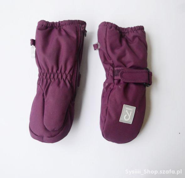 Rękawiczki Fioletowe Reima 0 12 m 50 86 cm