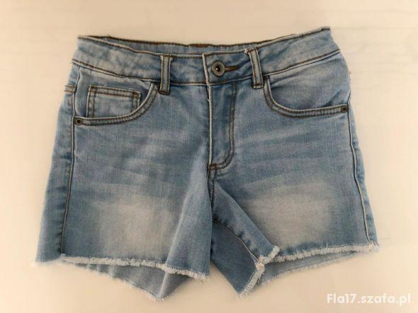 ZARA Kids szorty spodenki jeans 7 8 lat 128 cm BDB