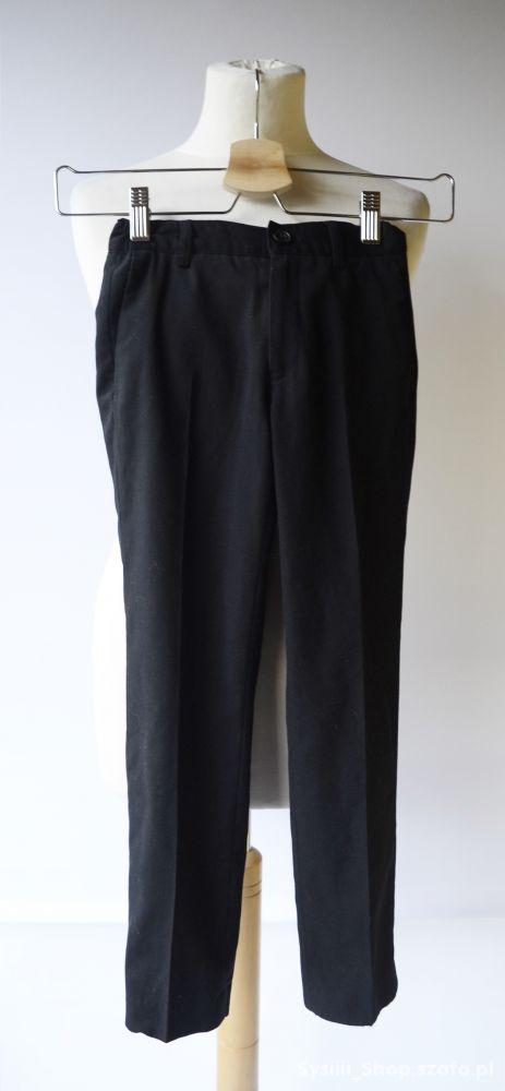 Spodnie Cubus 128 cm 8 lat Czarne Eleganckie