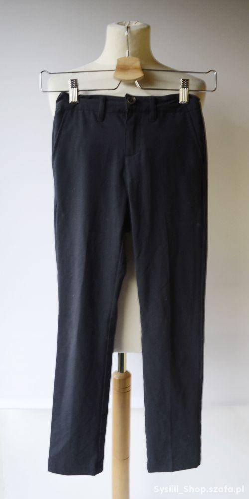 Spodnie Granatowe Eleganckie Name It 134 cm 9 lat