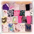 Zestaw paka ubrań dla dziewczynki 38 szt 158 164