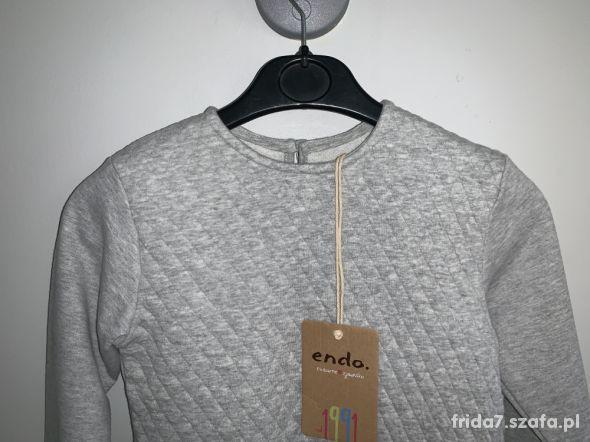 nowa pikowana bluza Endo 122