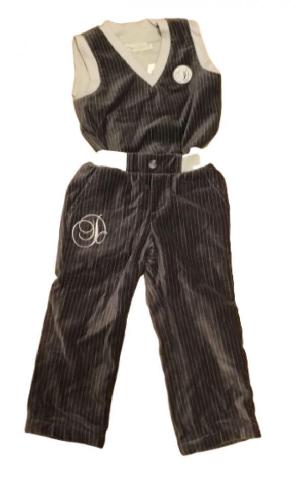 Zestawkamizelka i spodnie 86 nowy
