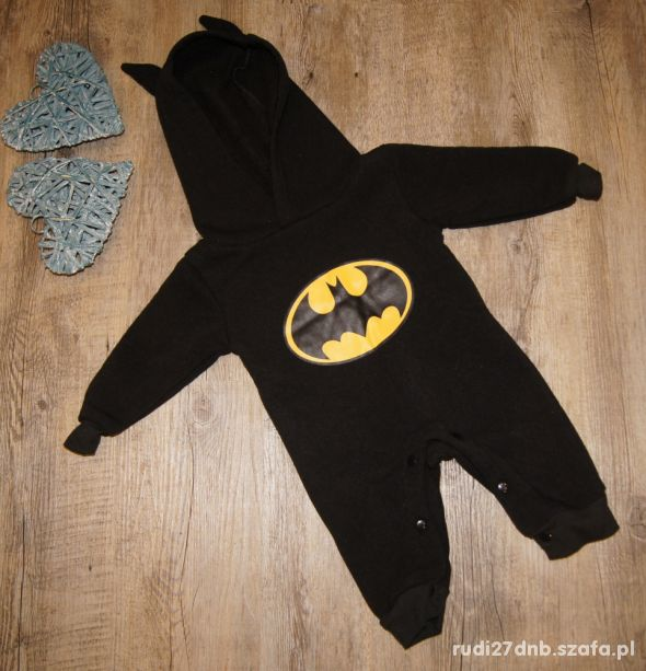 Body chłopiec Batman cudeńko rozm 80