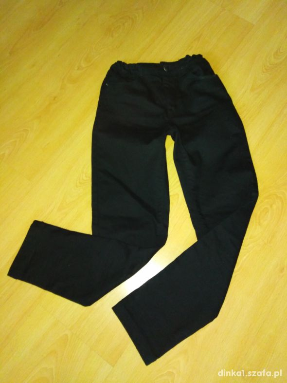 Spodnie jeansy czarne