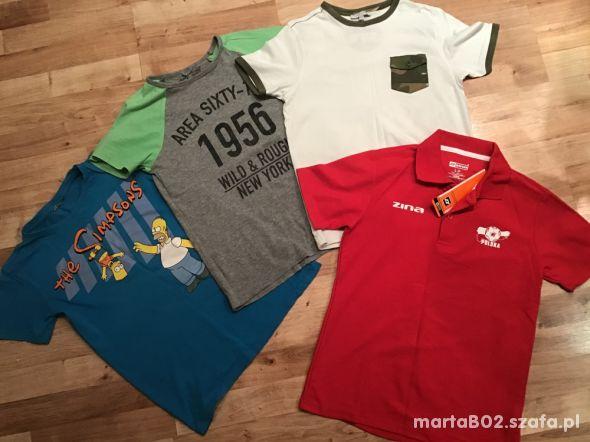 Koszulki dla chłopca 8 10 lat