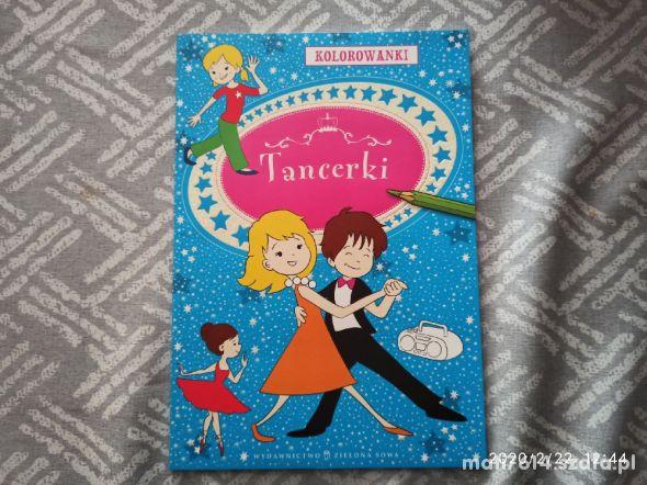 Kolorowanka Tancerki