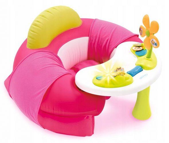 SMOBY cotoons siedzisko dla dziecka ze stolikiem