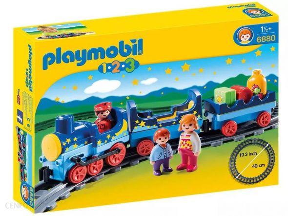 Playmobil 6880 123 Gwiezdny pociąg z torami