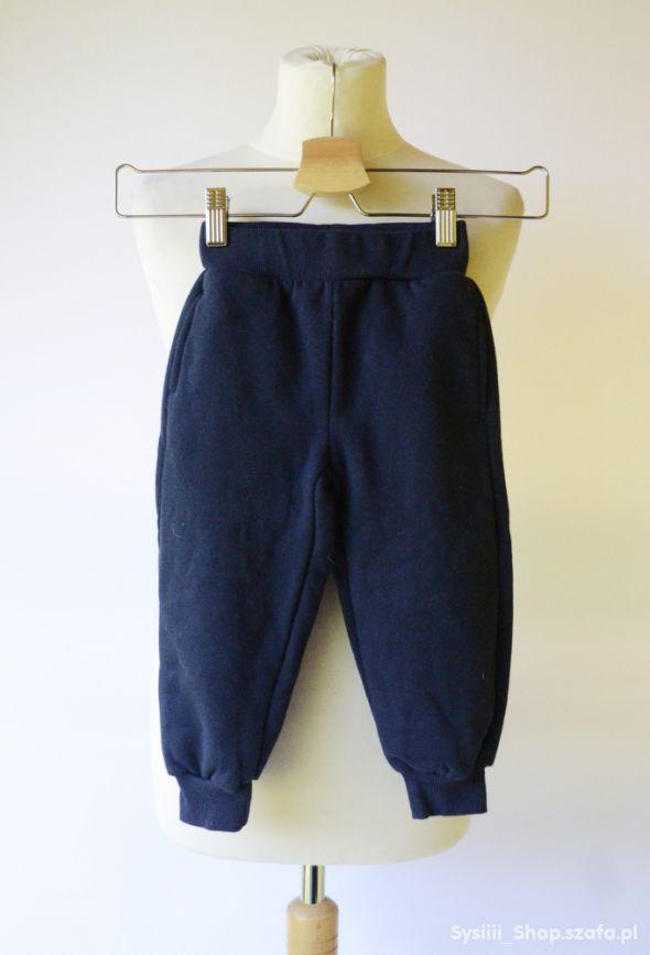 Spodnie Granatowe MyWear 86 92 cm 2 lata Dresy