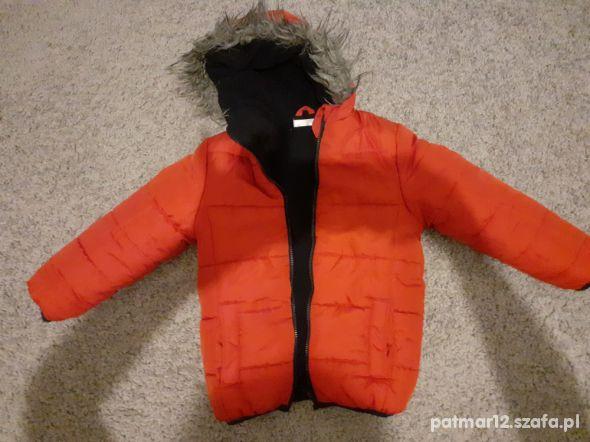 Kurteczka zimowa dla chłopca rozmiar 92 idealna